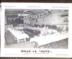 Carte Publicitaire Grand Manil - Gembloux