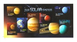 Australia 2015 Our Solar System Imperforate Minisheet MNH - 2010-... Elizabeth II
