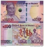 NIGERIA       100 Naira     Comm.       P-41       2014       UNC - Nigeria