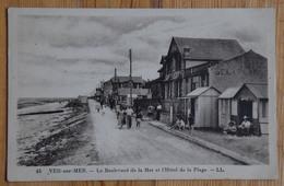 14 : Ver-sur-Mer - Le Boulevard De La Mer Et L'Hôtel De La Plage - Animée : Petite Animation - (n°14363) - Autres Communes