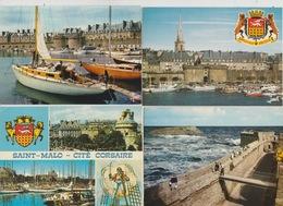 19/ 2/ 274  -   LOT  DE  15  C. P. M. DE  SAINT-MALO  ( 35 ) Toutes Scanées - Postcards