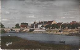 CPSM Petit Format : Selles Sur Cher , Le Pont Et La Plage - Selles Sur Cher
