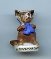 "FEVE - FEVES -  ""PETIT CHAPERON ROUGE""  MAT - LE LOUP - Charms"