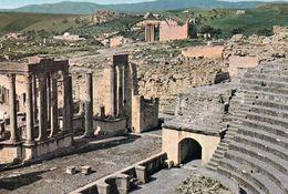 1 AK Tunesien * Römische Ruinen In Der Antiken Stadt Thugga - Heute Dougga - Seit 1997 UNESCO Weltkulturerbe * - Tunesien