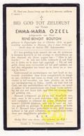 DP Emma M. Ozeel ° Poperinge 1879 † Menen 1935 X René B. Bouton - Images Religieuses