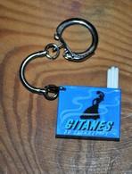 Très Rare Porte-clés Gitanes Avec Cigarettes Rétractables - Porte-clefs