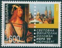 "BULGARIA \ BULGARIE - 1999 - ""IBRA"" Exp. Phil. Int. A Nurenberg - 1v ** - Arts"