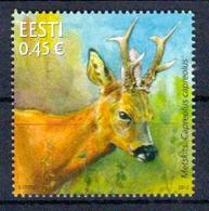 Estland 'Rehbock' / Estonia 'Roe Deer' **/MNH 2012 - Timbres