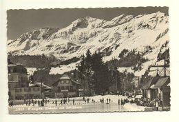 WENGEN Eisbahn Mit Schilthorn Eislauf - BE Berne