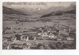 KONOLFINGEN STALDEN Blick Nach Den Berner Alpen Gel. 1909 N. Bern - BE Berne