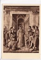 Beato Angelico: Santo Stefano Distribuisce L' Elemosina, Cappella Di Nicolo V, Vaticano, Unused Postcard [22874] - Vatican