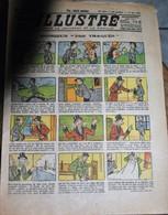 Rare Revue Pour Enfants Le Petit Illustré Du 17 Mai 1925 Avec Planche Dessins Bibi Fricotin - Old Paper