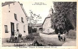 Trois-Ponts - Chapelle De Brume (animée Attelage Chien) - Trois-Ponts