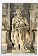 ROMA, Basilica Of S. Pietro In Vincoli, Moses, By Michelangelo, Unused Postcard [22875] - Sculpturen