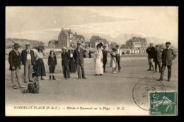 AVIATION - HARDELOT-PLAGE (PAS-DE-CALAIS) - BLERIOT ET BEAUMONT SUR LA PLAGE - ....-1914: Précurseurs