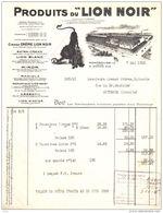 LION NOIR   Cirages, Encaustiques, Miror      MONTROUGE - France