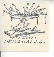 Ex Libris.70mm70mm. - Bookmarks
