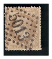 N° 28B Obl. GC 5013 BLIDAH  ( Algérie ) - 1862 Napoléon III.