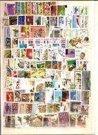 VRAC + De 800 Timbres Oblitérés MONDE - 32 - Stamps