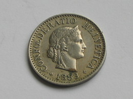 10 Centimes Rappen  1883 - Suisse - Switzerland   ***** EN ACHAT IMMEDIAT ***** - Suisse