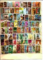 VRAC + De 800 Timbres Oblitérés MONDE - 1 - Stamps
