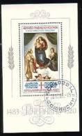 BULGARIA / BULGARIE - 1983 - 500 Ans De La Naissance De Rafael - Bl Obl. - Arts