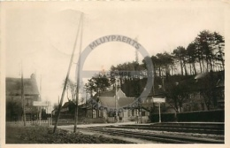 /!\ 9497 - CPA/CPSM - 62 - Auchy Les Hesdin : PHOTO : La Gare - France