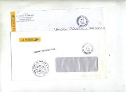 Lettre Franchise Cachet Perigueux Contreseing - Marcophilie (Lettres)