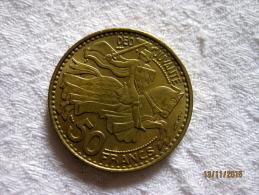 Monaco 50 Francs 1950 - 1949-1956 Anciens Francs