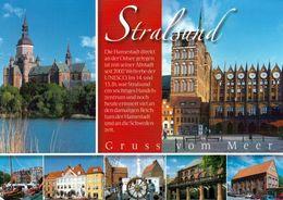 1 AK Germany * Die Historische Altstadt Von Stralsund – Seit 2002 UNESCO Weltkulturerbe * - Stralsund