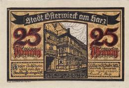 Billet Allemand - 25 Pfennig - Osterwieck 1921 - [11] Emissions Locales
