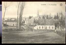 Cpa Lonzée  1927 - Gembloux