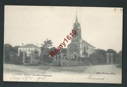 SIVRY - Sautin. La Place Communale. Edition Michaux. Scan Recto/verso. Griffe Sivry. - Sivry-Rance
