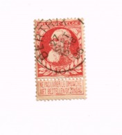 "Oblitération Centrale  ""Bertrix"" Sur Yvert 74 - 1905 Grosse Barbe"
