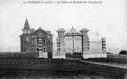 Cancale (35) - Le Château De Barbrulé. - Cancale