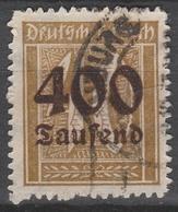 Deutsches Reich    .    Michel    .     300     .       O        .      Gebraucht - Deutschland