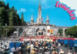 Lot De 10 CPSM LOURDES-Toutes Scannées-11      L2779 - Postcards