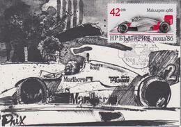 BULGARIE : ALAIN PROST  Mac LAREN 1986 - Automovilismo