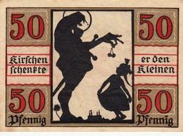 Billet Allemand - 50 Pfennig - Naumburg An Der Saale 1920 - Stadtwappen, Riese Gibt Fille Kirsche - [11] Emissions Locales