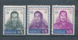 Portraits De Militaire - Lot De 3 TP - Indonesia