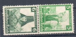 1935 Trachten Michel S231 Mlh* - Zusammendrucke