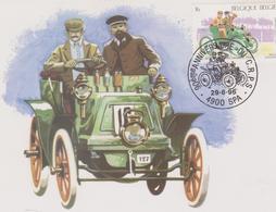 BELGIQUE : GERMAIN 6 CV De 1900 SPA FRANCORCHAMPS 1896-1996 - Automovilismo
