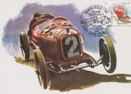 BELGIQUE : ALFA ROMEO P2 De 1925 SPA FRANCORCHAMPS 1896-1996 - Automovilismo