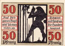 Billet Allemand - 50 Pfennig - Naumburg An Der Saale 1920 - [11] Emissions Locales