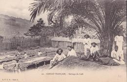 CONGO  Série  Z   N° 20  Séchage Du Café     ( Plan Animé ) - Congo Français - Autres