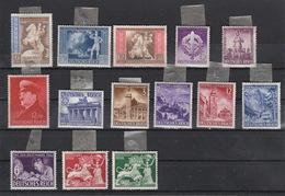 Deutschland Deutsches Reich  Falz   Lot 14 Marken Katalog 15,00 - Deutschland
