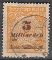 Deutsches Reich    .    Michel    .     327 A        .       O        .      Gebraucht - Deutschland