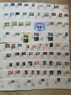ITALIA REPUBBLICA: L'ANNATA 2007 DELLE PRESTIGIOSE FDC CAVALLINO AL FACCIALE DEI FRANCOBOLLI - Lotti E Collezioni