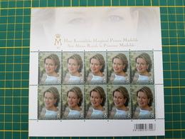 """Belgique-België - Feuillet De 10 Timbres 4293** """"SAR La Princesse Mathilde A 40 Ans"""" - Feuillets"""