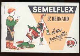 BUVARD:  SEMELFLEX - FORMAT 13,5X21 Cm - Chaussures